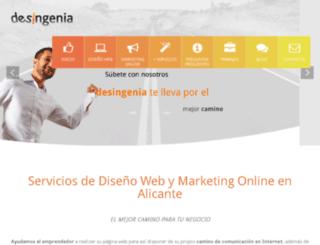 desingenia.com screenshot