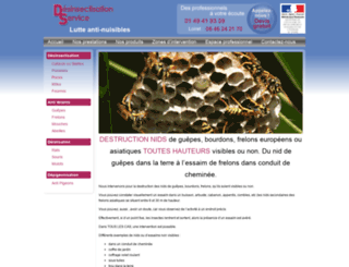 desinsectisation-service.com screenshot