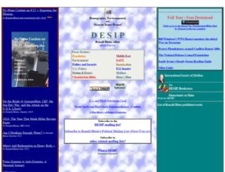 desip.igc.org screenshot