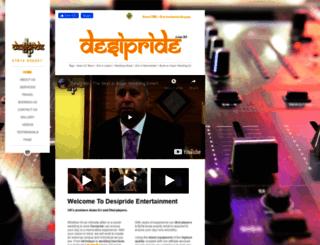 desipride.co.uk screenshot