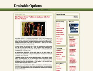 desirableoptions.blogspot.com screenshot