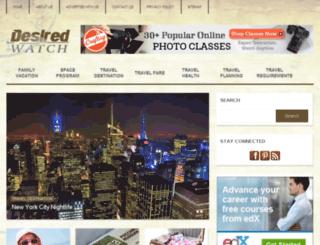 desiredwatch.com screenshot