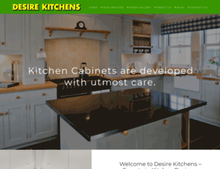 desirekitchens.com.au screenshot
