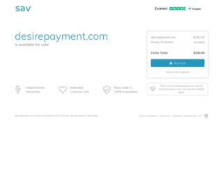 desirepayment.com screenshot