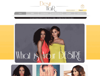 desirhairuk.com screenshot