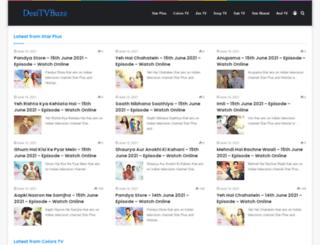 desitvbuzz.com screenshot