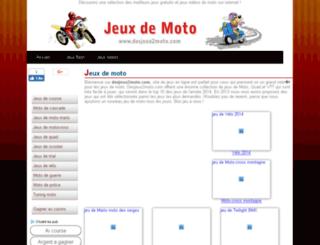 desjeux2moto.com screenshot