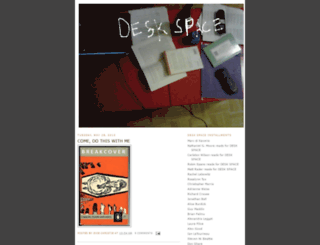 desk-space.blogspot.com screenshot