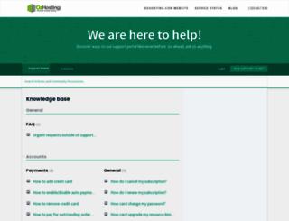 desk.ozhosting.com screenshot