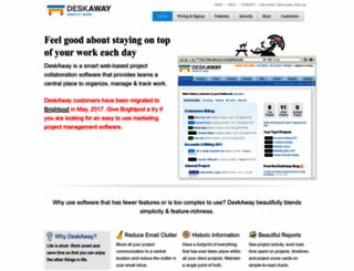 deskaway.com screenshot