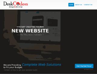 deskcoders.com screenshot