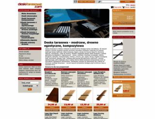 deski-tarasowe.com screenshot