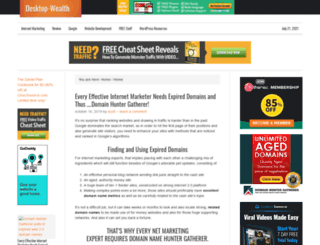 desktop-wealth.com screenshot