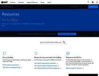 desktop.arcgis.com screenshot