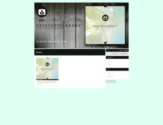desktopography.bigcartel.com screenshot