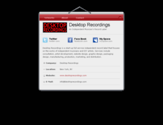 desktoprecordings.com screenshot