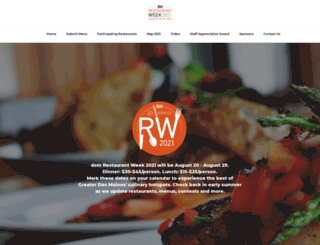 desmoinesrestaurantweek.com screenshot