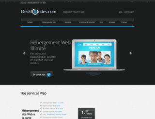 desmondes.com screenshot