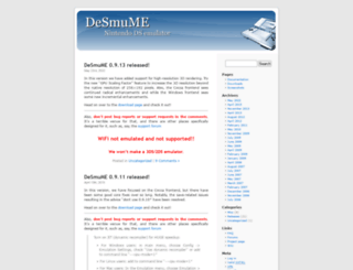 desmume.org screenshot
