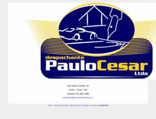 despachantepaulocesar.com screenshot