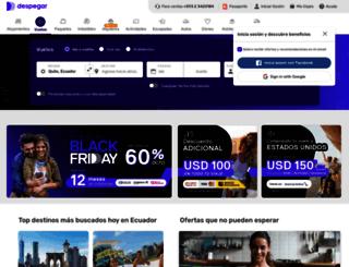 despegar.com.ec screenshot