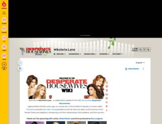 desperatehousewives.wikia.com screenshot