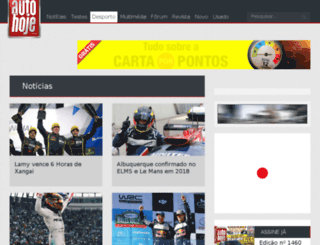 desporto.autohoje.com screenshot