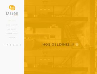 dessedesign.com screenshot