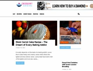dessertdiners.com screenshot