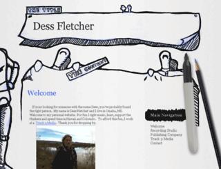 dessfletcher.com screenshot