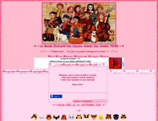 dessins-animes.actifforum.com screenshot