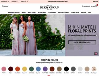 dessy.com screenshot