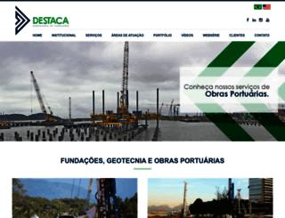 destacafundacoes.com.br screenshot