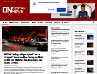 destaknewsbrasil.com.br screenshot