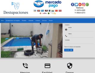 destapacioneschp.com.ar screenshot