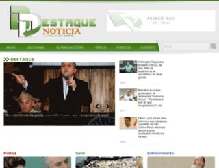 destaquenoticia.com.br screenshot
