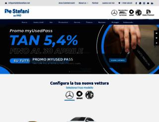 destefani.net screenshot