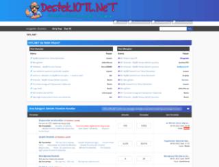 destek.10tl.net screenshot