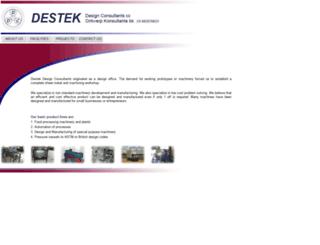 destek.co.za screenshot