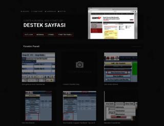 destek.comtr.com.tr screenshot