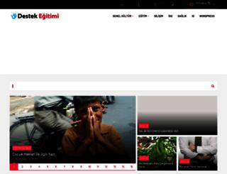 destekegitimi.com screenshot