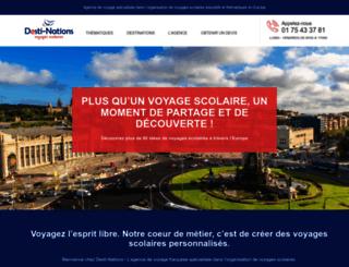 desti-nations.com screenshot