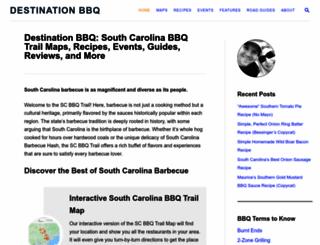 destination-bbq.com screenshot