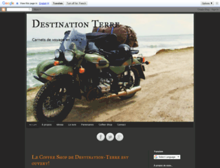 destination-terre.blogspot.com screenshot