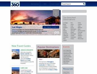 destination360.com screenshot