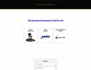 destinationdownunder.com screenshot