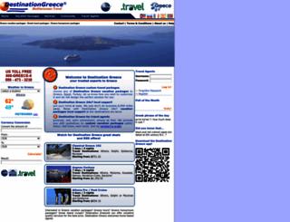 destinationgreece.com screenshot