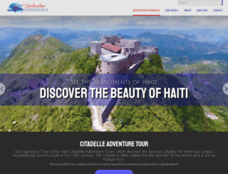 destinationhispaniola.com screenshot
