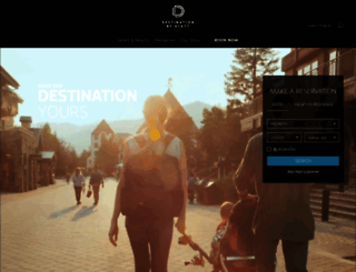 destinationhotels.com screenshot