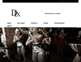 destinationluxury.com screenshot